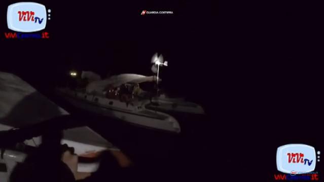 Soccorso a catamarano francese alla deriva a sud di Pantelleria