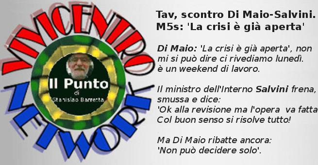 Tav, scontro Di Maio - Salvini