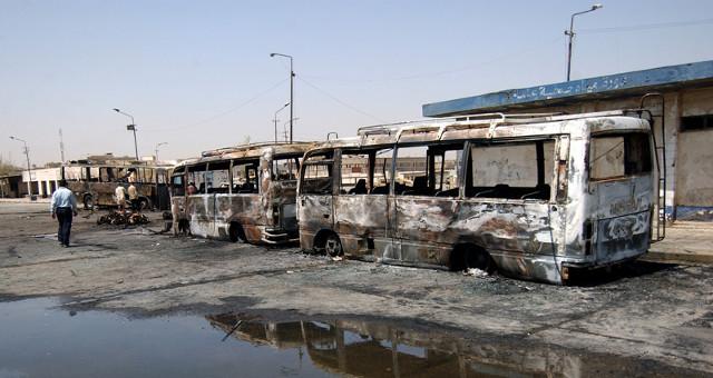 Attentato terroristico - Iraq-terrorist_attack_on_buses (foto pubblico dominio)