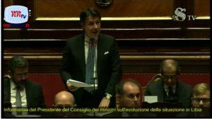 Conte in Senato informa sulla Libia