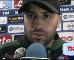 David Ospina mixed zone Napoli-Atalanata 220419