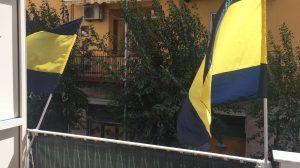 Foto Bandiera Juve Stabia Giallo Blu
