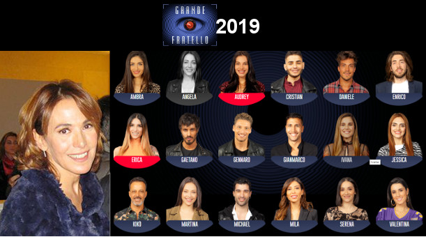 Grande Fratello 2019 Barbara D'Urso e Concorrenti