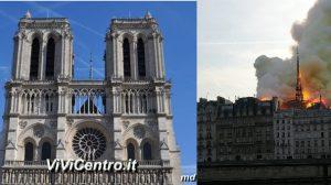 Notre Dame Ieri (nov 18) ed Oggi (apr 19