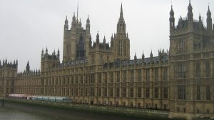 Palazzo di Westminster sede del Parlamento inglese