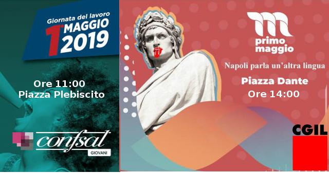 Primo Maggio a Napoli