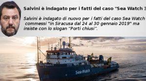 Salvini è indagato per i fatti del caso Sea Watch 3