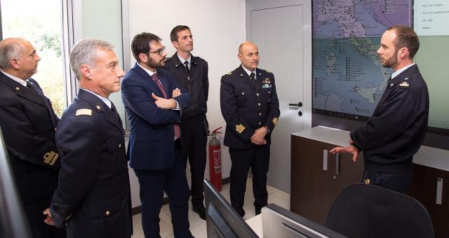 TOFALO, VISITA AL REPARTO SISTEMI INFORMATIVI AUTOMATIZZATI DELL'AM
