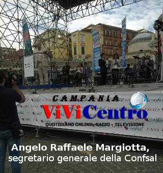 1° Maggio Angelo Raffaele Margiotta, segretario generale della Confsal