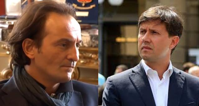 Elezioni provinciali 2019: Alberto Cirio (sindaco di Torino) e Dario Nardella (sindaco di Firenze