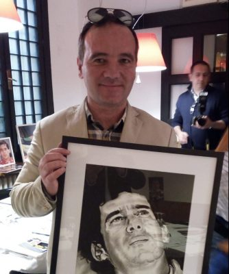 Carlo Ametrano Quadro Ayrton Senna (1) Formula Uno