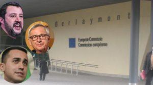 Commissione europea, ingresso Palazzo Berlaymont (foto pubblico dominio)