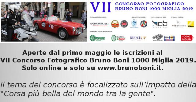 Concorso Fotografico Bruno Boni 1000 Miglia 2019