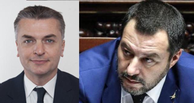 Edoardo Rixi e Matteo Salvini
