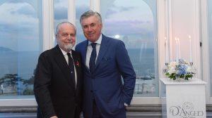 Foto twitter ancelotti de laurentiis