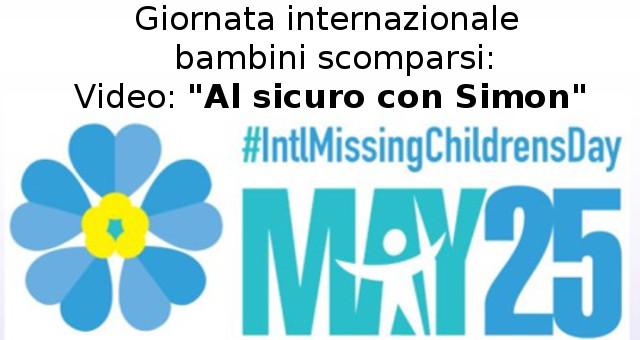 Giornata internazionale per i minori scomparsi (foto free da polizia)