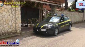 Guardia di Finanza Roma, sequestro di beni