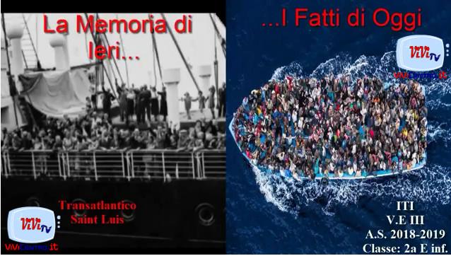 Ieri e Oggi dei ragazzi dell'ITIS V.E.III di Palermo
