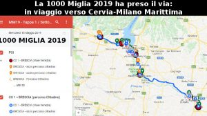 La 1000 Miglia 2019 ha preso il via