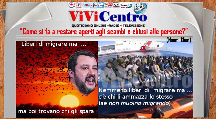 Liberi di Migrare, i cieli non sono ancora chiusi come i porti