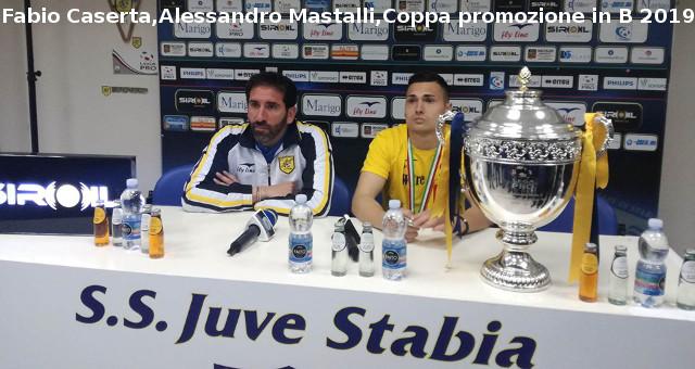 Mastalli e Caserta presntano la Coppa della promozione in B