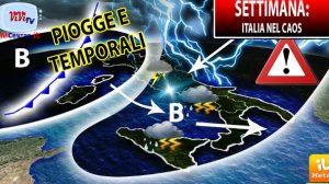 Meteo - Settimana italia caos (da meteo.it)