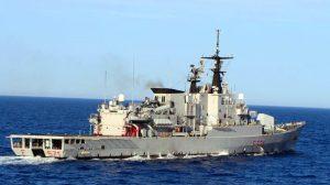 Nave GRECALE (foto Marina Militare)