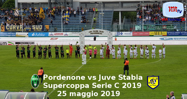 Pordenone vs Juve Stabia - Supercoppa serie c - 250519