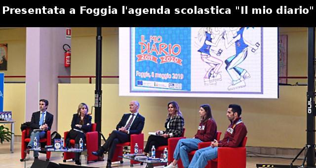 Presentata a Foggia l'agenda scolastica 'il mio diario'