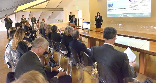 Presentazione del nuovo sito del MEF (foto dal ministero)