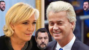Salvini, Le Pen e Geert