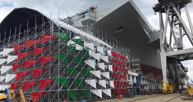 Varo nave Trieste a Castellammare di Stabia