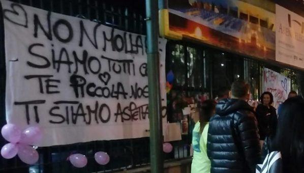 noemi non mollare napoli agguato foto immagine free, pubblicata dal consiglire Francesco Emilio Borrelli