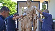statua demetra parco archeologico ercolano