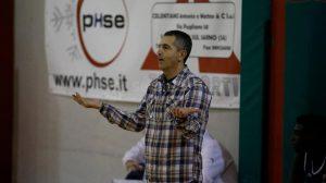 A.D. Pallacanestro Partenope coach Enzo Patrizio - Foto Mazza