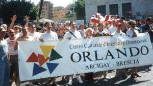 Salviscisti bresciani contro Orlando Arcigay Brescia