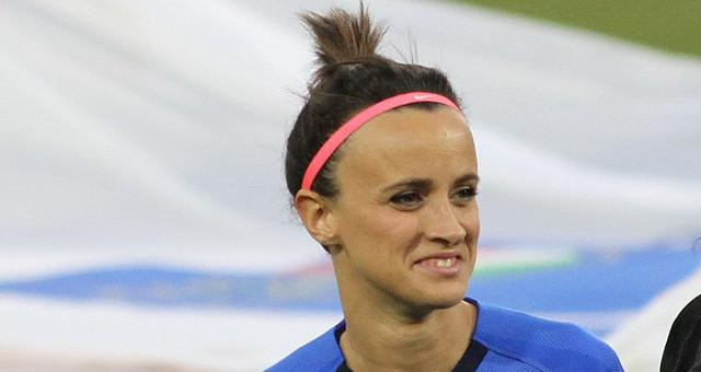 Barbara Bonansea, squadra italiana femminile Mondiali 2019 (foto free CC BY-SA 4.0)