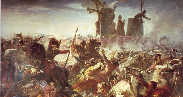 Battaglia di Legnano di Amos Cassoli (pubblico dominio)