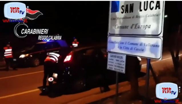 Carabinieri Reggio Calabria, controlli