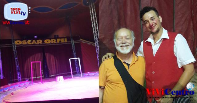 Carmelo Toscano e Oscar Orfei (a dx) COMBI