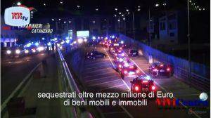Catanzaro - Eseguiti dai Carabinieri 24 arresti e sequestrati beni per mezzo milione €