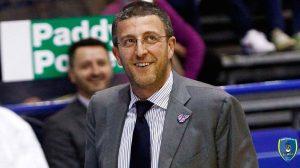 Coach Giulio Griccioli givova scafati basket