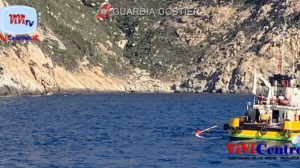 Costa su incidente a isola Montecristo