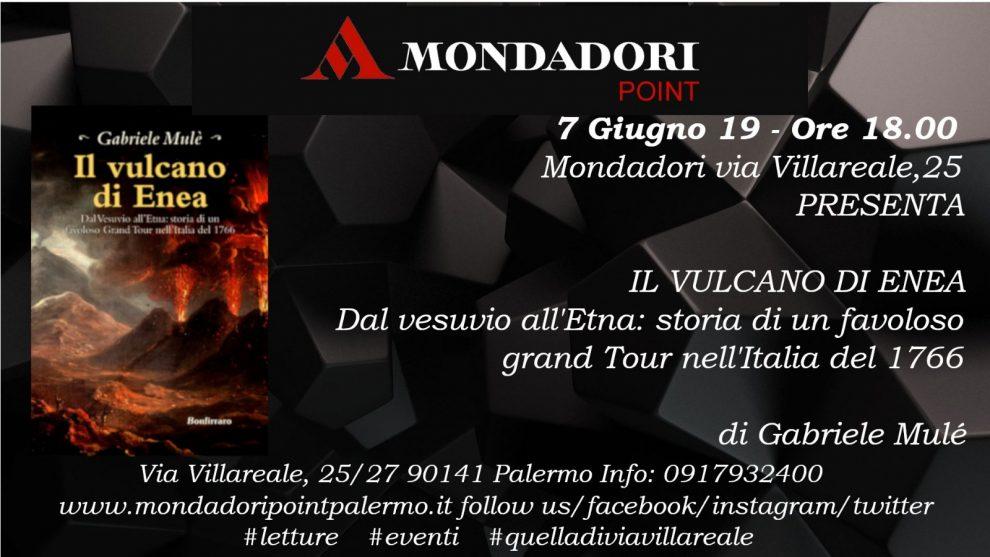 """Gabriele Mulé presenta """"Il vulcano di Enea"""" palermo"""