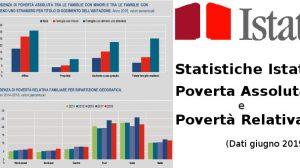ISTAT - Statistica Incidenza di povertà assoluta e relativa (giugno 2019)