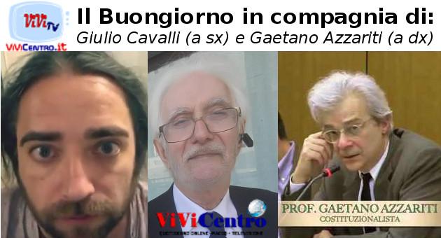 Il Buongiorno in compagnia di Giulio Cavalli e Gaetano Azzariti - VIDEO