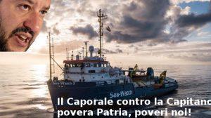 Il Caporale contro la Capitano, povera Patria