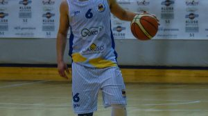 Luca Izzo partenope basket (Foto Palma)