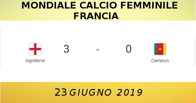 MONDIALE CALCIO FEMMINILE 230619