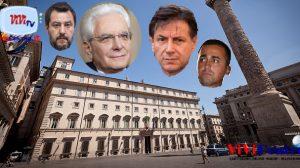Mattarella, Conte, Salvini, Di Maio condannati ad un dialogo che allunga l'agonia